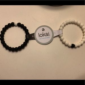 Lokai Jewelry - Black and White Lokai Bracelet (Small)